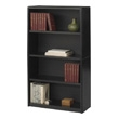 Safco 4-Shelf ValueMate Economy Bookcase 7172BL (Black) ES3458