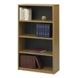 Safco 4-Shelf ValueMate Economy Bookcase 7172MO (Medium Oak) ES3460