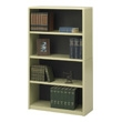 Safco 4-Shelf ValueMate Economy Bookcase 7172SA (Sand) ES3461