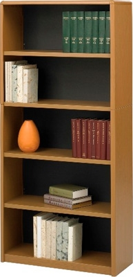 Safco 5-Shelf ValueMate Economy Bookcase 7173MO ES3464