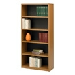 Safco 5-Shelf ValueMate Economy Bookcase 7173MO (Medium Oak) ES3464
