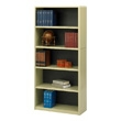Safco 5-Shelf ValueMate Economy Bookcase 7173SA (Sand) ES3465