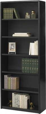 Safco 6-Shelf ValueMate Economy Bookcase 7174BL ES3466