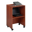 Safco Lectern Base/Media Cart 8917CY (Cherry) ES3487