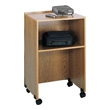 Safco Lectern Base/Media Cart 8917MO (Medium Oak) ES3489