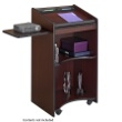 Safco Executive Mobile Lectern 8918MH (Mahogany) ES3491