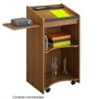 Safco Executive Mobile Lectern 8918MO (Medium Oak) ES3492