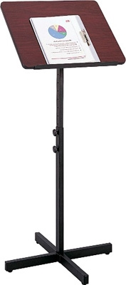 Safco Adjustable Speaker Stand 8921MH ES3497