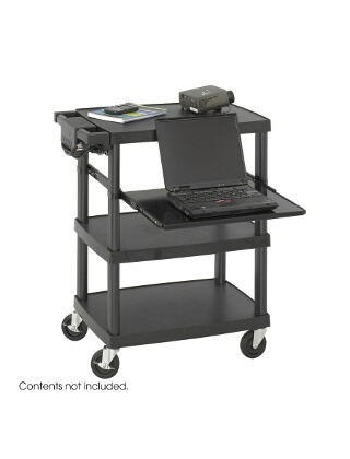 Safco Multimedia Projector Cart 8929BL ES3505