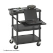 Safco Multimedia Projector Cart 8929BL (Black) ES3505
