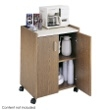 Safco Mobile Refreshment Center 8953MO (Medium Oak) ES3517