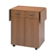 Safco Hospitality Service Cart 8962MO (Medium Oak) ES3520