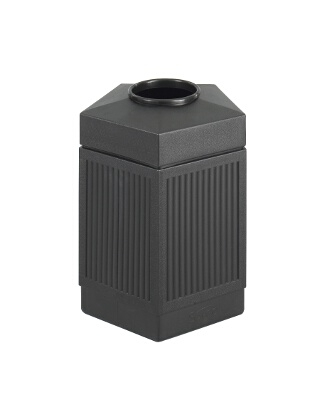 """Safco Canmeleon Indoor/Outdoor, 45 Gallon Pentagon 9486BL"" ES3545"