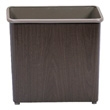 Safco Rectangular Wastebasket, 27.5 Qt. (Qty.3) 9615WL
