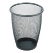 Safco Onyx Mesh Medium Round Wastebasket (Qty.3) 9717BL (Black) ES3588