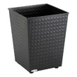 Safco Checks Wastebasket (Qty.3) 9733BL (Black) ES3600