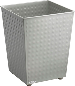 Safco Checks Wastebasket (Qty.3) 9733GR ES3601