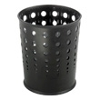 Safco Bubble Wastebasket (Qty.3) 9740BL (Black) ES3603