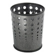 Safco Bubble Wastebasket (Qty.3) 9740NC (Black Speckle) ES3605