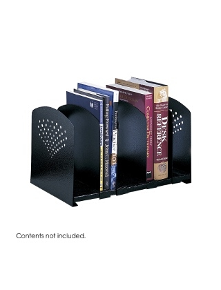 Safco Five Section Adjustable Bookrack ES3651 3116BL