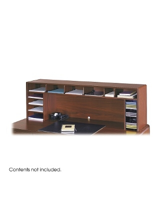 "Safco 58""W High Clearance Desk Top Organizer ES3706"