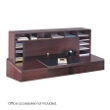 "Safco 58""W High Clearance Desk Top Organizer 3661MH ES3707"