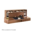 "Safco 58""W High Clearance Desk Top Organizer 3661MO ES3708"