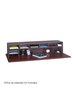 "Safco 58"" Low Profile Desk Top Organizer 3671MH"