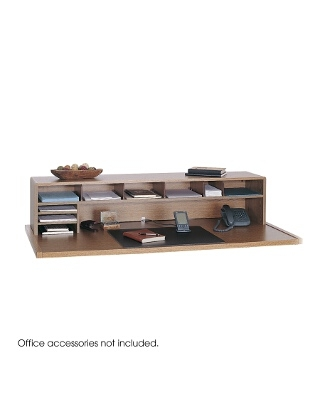 "Safco 58"" Low Profile Desk Top Organizer 3671MO"