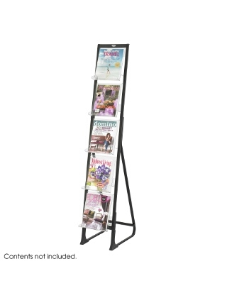 Safco In-View Free Standing Display ES3716 4111BL