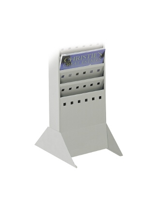Safco Steel Magazine Rack Base 4323GR (Gray)