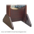 Safco Wood Magazine Rack Base 4332MH (Mahogany) ES3742