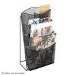 Safco Onyx Mesh 4 Pocket Magazine Rack ES3759