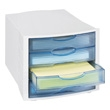 Safco 4-Drawer Organizer (Qty.4) 5825GR ES3768