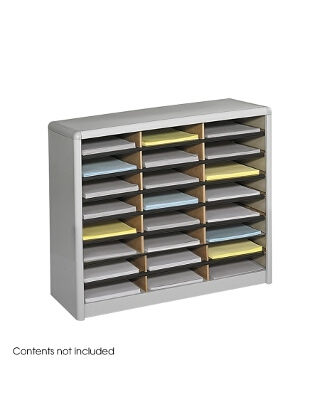 Safco Value Sorter Literature Organizer, 24 Compartment ES3776