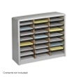 Safco Value Sorter Literature Organizer, 24 Compartment 7111GR ES3776