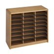 Safco Value Sorter Literature Organizer, 24 Compartment 7111MO ES3777