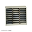 Safco Value Sorter Literature Organizer, 24 Compartment 7111SA ES3778