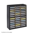 Safco Value Sorter Literature Organizer, 36 Compartment 7121BL ES3779