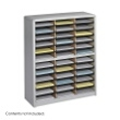 Safco Value Sorter Literature Organizer, 36 Compartment 7121GR ES3780