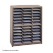 Safco Value Sorter Literature Organizer, 36 Compartment 7121MO ES3781