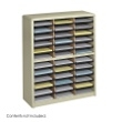 Safco Value Sorter Literature Organizer, 36 Compartment 7121SA ES3782
