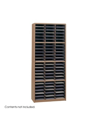 Safco Value Sorter Literature Organizer, 72 Compartment ES3786