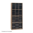 Safco Value Sorter Literature Organizer, 72 Compartment 7131MO ES3786