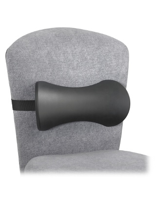 Safco Memory Foam Lumbar Support Backrest (Qty.5) ES3793 7154BL