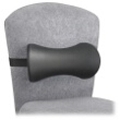 Safco Memory Foam Lumbar Support Backrest (Qty.5) 7154BL ES3793