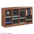 Safco E-Z Stor Wood Literature Organizer, 24 Compartments 9311CY ES3809