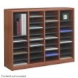 Safco E-Z Stor Wood Literature Organizer, 36 Compartments 9321CY ES3813