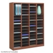 Safco E-Z Stor Wood Literature Organizer, 60 Compartments 9331CY ES3817