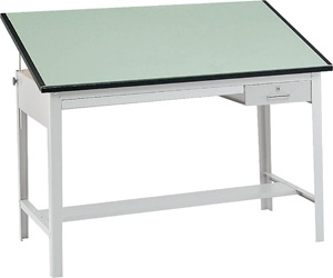 "Safco Precision 60"" Wide Drafting Table (3962GR and 3952) ES60 3962GR 3952"